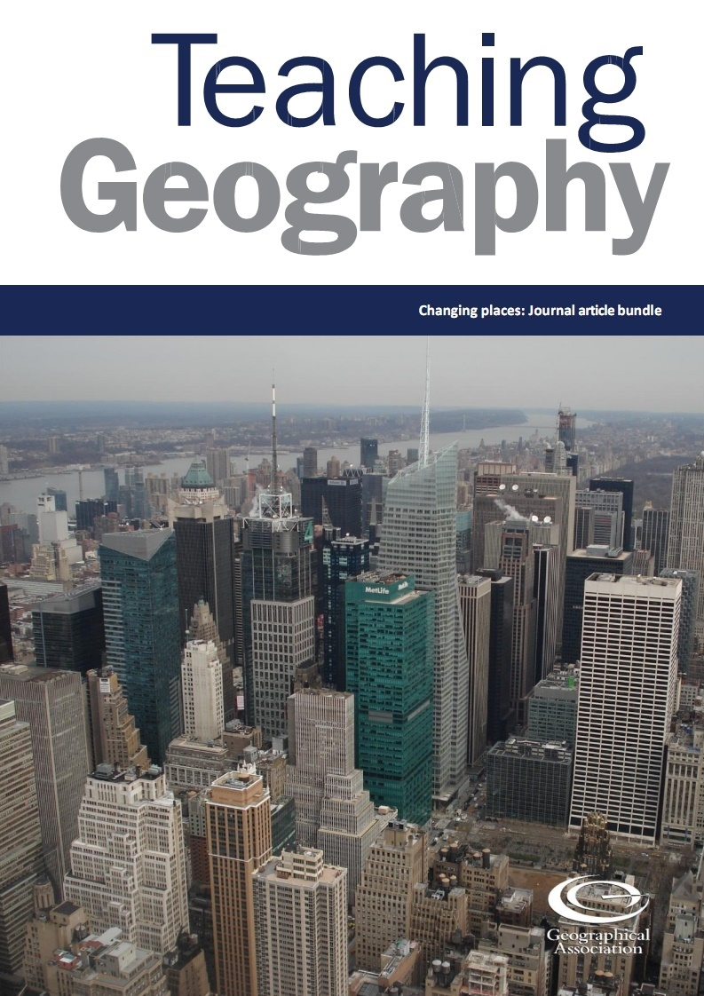 Teaching Geography bundle - Changing places