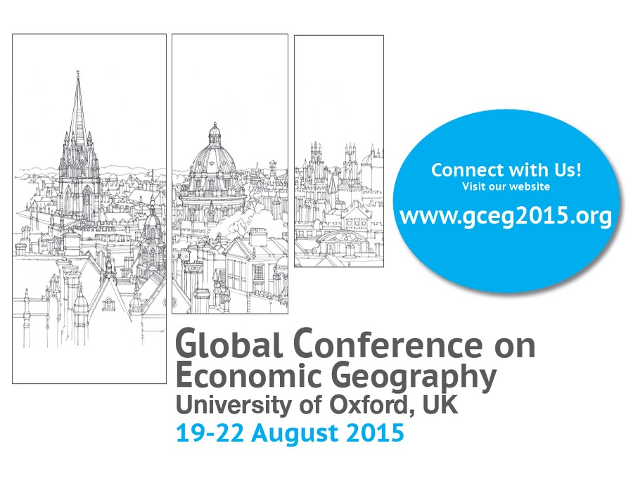 Visit the Fourth Global Conference on Economic Geography 2015 homepage