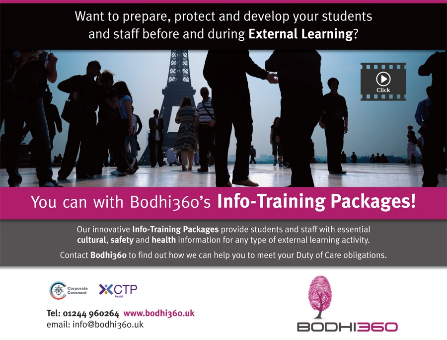 Bodhi360's Info-Training Packages