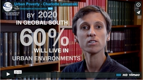 go to http://geography.org.uk/resources/videocasts/urbanpoverty/