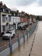 flood barriers protect property