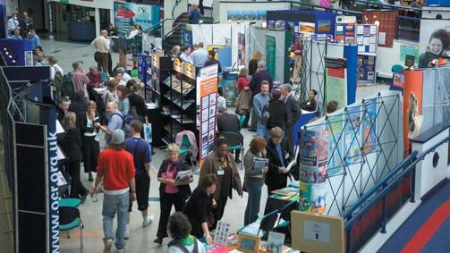 Resources Exhibition, University of Derby
