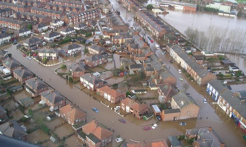 Carlisle Flooding, January 2005: © Prestwood