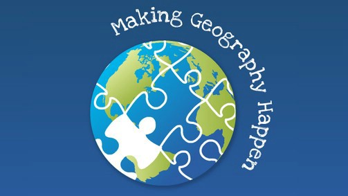 Making Geography Happen logo