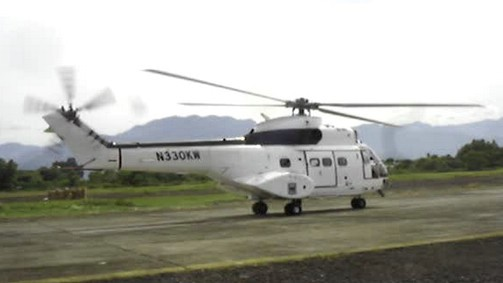 MapAction Helicopter