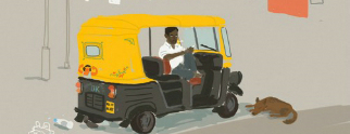 For hire! - Bangalore Rickshaw