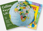 Maps, Atlases and Globes