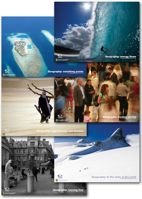 <em>A different view</em> - All six posters