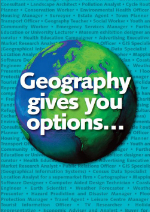 Geography gives you options...