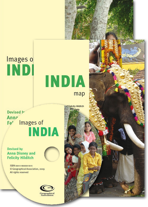 Images of India CD and India map offer