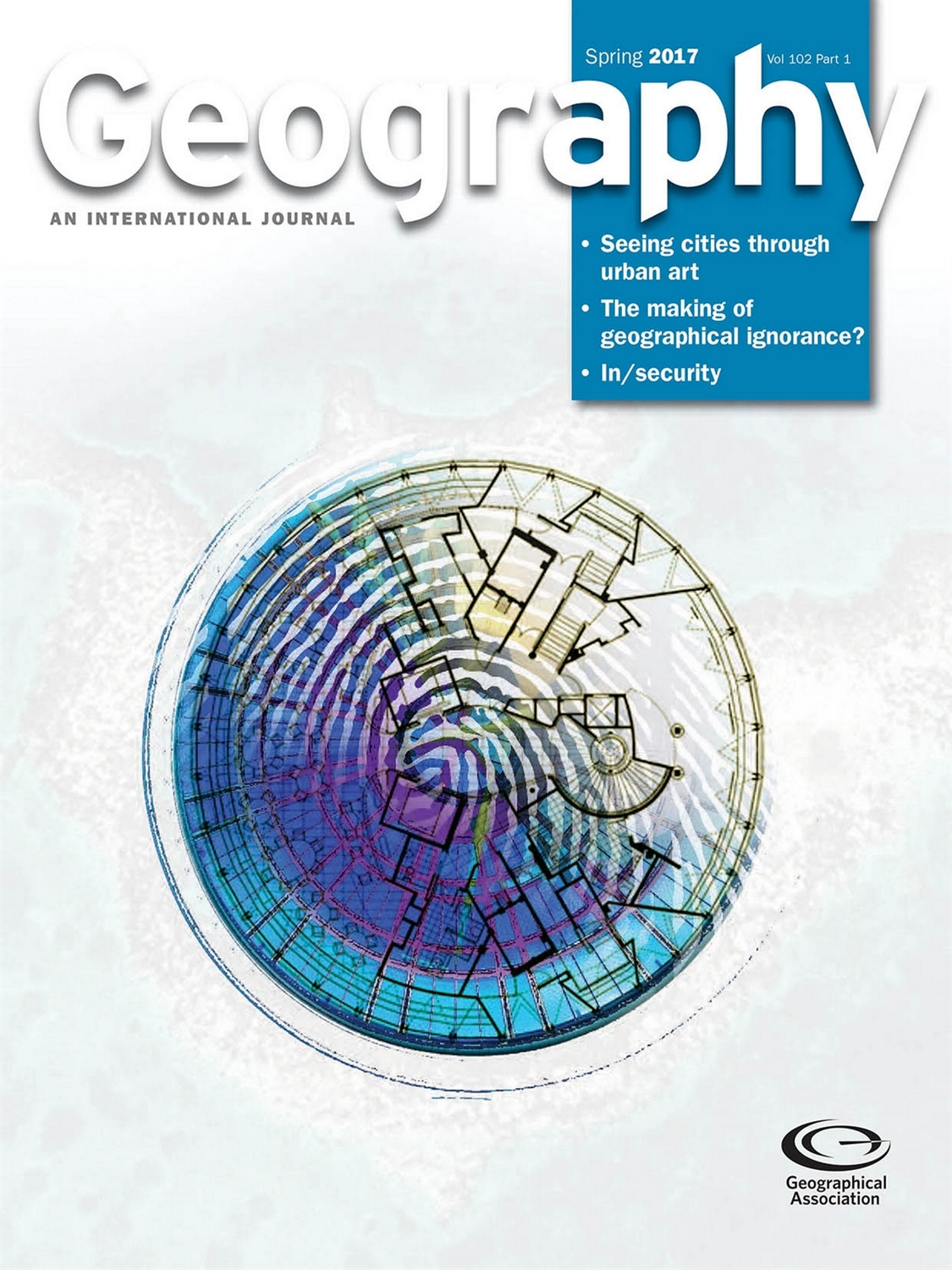 spring GEOGRAPHY vol102 part1 COVER