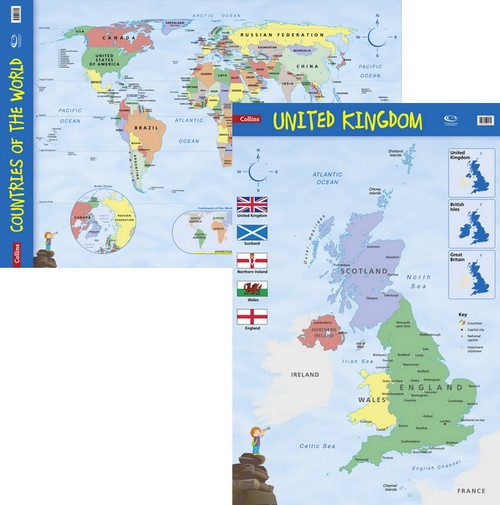 9781843773627 collins uk and world wall map offer key stage 1 collins uk and world wall map offer gumiabroncs Gallery